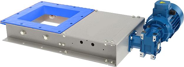 Ножевые затворы с электромеханическим приводом серии VT NZEM - описание и технические характеристики