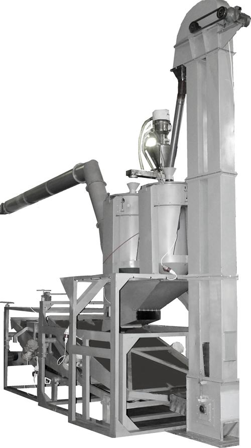 Линия шелушения семян подсолнечника PB-1 - технические характеристики